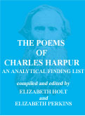 THE POEMS OF CHARLES HARPUR: AN ANALYTICAL 